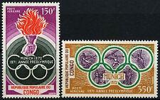 Congo 1971 SG#304-5 Olympic Games MNH Set #D35370