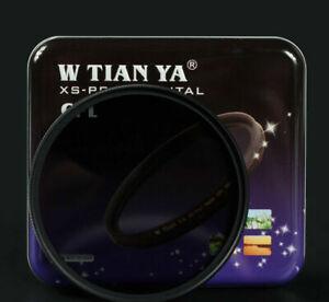 W-TIANYA 46mm Optical Ultra Slim XS-Pro1 Digital CPL Circular Polarizer Filter