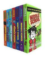 Middle School 7 Books Collection Set by James Patterson Dog's Best Friend PB NEW