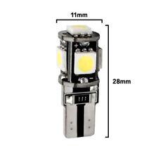 20 Lampade Led 10 SMD 5630 T10 Canbus No Errore BIANCO Xenon Posizione Targa