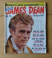 RAR!!! Official JAMES DEAN Anniversary Book 1956 RAR!!!