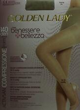 MEDIA PANTY TIGHTS COLLANTS GOLDEN LADY DESCANSO 70DEN-140DEN MASAJE Y RELAX