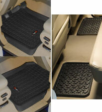 New Ford F150 Supercrew 01-03 Floor Liner Kit Black  X 82987.25