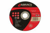 Abracs 100mm x 1.0mm Mince Coupe Disques Paquet 10 32144 Par Connect Neuf
