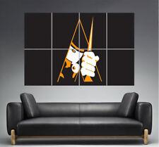 Naranja Mecánico Wall Cartel Poster Película Lámina Clásico formato A0