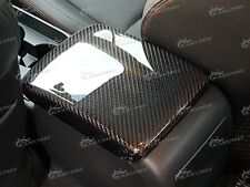 Carbon Fiber Armrest Arm Rest Cover Fit 2008 2009 2010 2011 2012 Subaru WRX STI