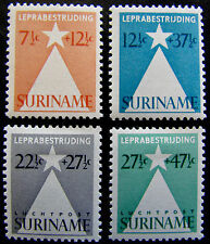 SUR NVPH 247 & 248 en LP29 & LP30 Leprazegels prachtig ongebruikt CW ca. 18,-