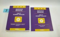 1996 Dodge Colt Eagle Summit Factory Service Manual Set  GOOD USED CONDITION 7