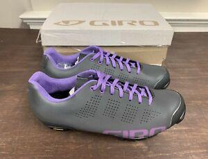 Giro Empire VR90 Dark Shadow Reflective / Purple Men's 39.5 EU 7 US New in Box