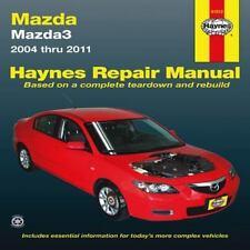 Mazda3 Automotive Repair Haynes Manual : Models Covered Mazda 3 - 2004 - 2011