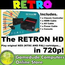 Retron HD N.E.S Retro Entertainment System (Black) Top Loader MODEL : M01888-BK