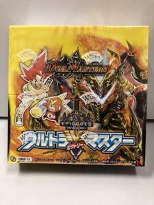 Duel Master DMR-11 Episode III Expansion 3rd Ultra V Master Box x1