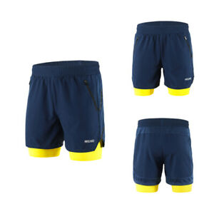 Cycling Shorts Running Training Short Pant Breathable Quick Dry Sweatpants