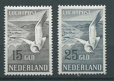 1951TG Nederland Luchtpost Zeemeeuw Nr.12-13  postfris mooie zegels zie foto's.
