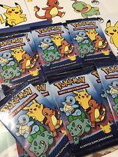 Lot 6 Booster NEUF Pokemon 25 Ans Carte Macdo Macdonald's 2021 Édition Limitée