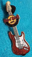 New listing Foxwoods Fender Era Guitar Series 2010 Orange & White Strat Hard Rock Cafe Pin