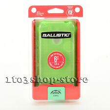 Ballistic Jewel Soft Rubber Gel Case Cover for Moto Motorola G4 Play Green NEW