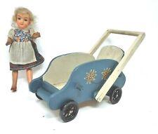 Puppe Puppenwagen um 1900 Sammlerstück antik