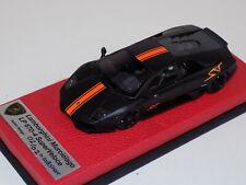 1/43 Looksmart Lamborghini Murcielag LP670-4 SV Matt black/orange stripe ABEX012
