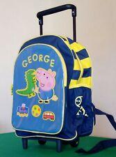 Trolley Peppa Pig Bambina zaino scuola asilo con bretelle bambina rosa 28X22