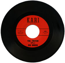 "IRA GREEN  ""THE TWITCH Part 1 c/w THE TWITCH - Part 2""   R&B   LISTEN!"