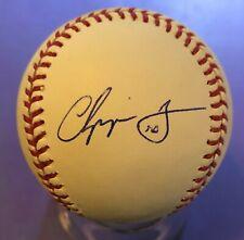 Chipper Jones ~ Atlanta Braves HOF ~ Autographed Official MLB Baseball w/2nd sig