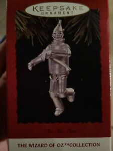 Vintage Hallmark Christmas Tree Ornament The Tin Man Wizard of OZ Collection