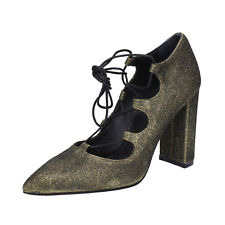 scarpe donna ISLO ISABELLA LORUSSO 39 EU decolte oro glitter BZ215-E