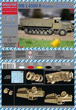 Schatton Modellbau 1/72 MB L4500 R Maultier German Heavy Truck w/Square Cab # 72