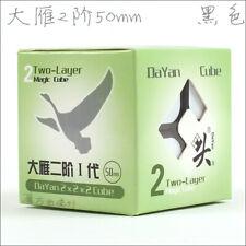 Dayan Zhanchi 2x2x2 Speed Cube Magic Puzzle Black 50mm Anti-POP for Speedcubing