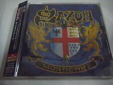 SAXON-Lionheart JAPAN 1st.Press w/OBI NWOBHM Iron Maiden Motorhead AC/DC Venom