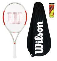 Wilson Federer Pro Lite 105 Graphite Tennis Racket + Cover + 3 Balls RRP £180