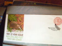 NEW ZEALAND 1991  KIWI $1  FIRST DAY COVER