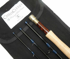 Chris Clemes of London 9' graphite 4 piece travel fly rod & case rrp £499