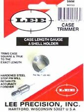 Lee 90153 9mm Luger Case Length Gage and Shellholder