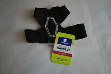 """New listing Top Paw Butterfly Vest Harness Black X Small (Girth 12-13"""") Nwt"""