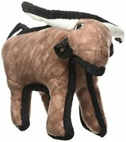 Washable Junior Barnyard Dog Toy w/ Soft Durable Fabric - Bevo the Bull