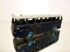 DINKY TOYS 283 BUS COACH BOAC BRITISH OVERSEAS  - BLUE L12.0cm - GOOD CONDITION