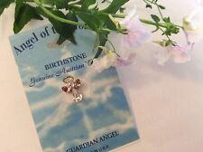 ANGEL of the month June Alexandrite Lapel Hat Tie Pin Brooch rhinestone 17mm