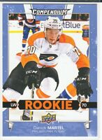 2017-18 Upper Deck Compendium Series 3 BLUE ROOKIE RC Danick Martel