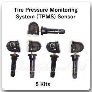 Set 5 Kits New Model TPMS Tire Pressure Sensor Fits: Ford Lincoln Mazda Mercury