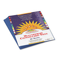 Sunworks Construction Paper 58 lbs. 9 x 12 Blue 50 Sheets/Pack 7403