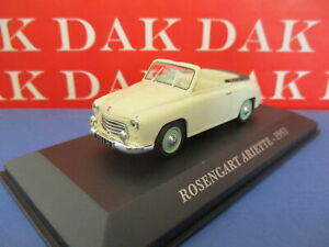Die cast 1/43 Modellino Auto Rosengart Ariette 1953