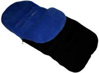 Buggy Snuggle Black/Dark Blue Footmuff fit  Britax Holiday stroller