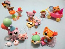 Littlest Pet Shop LPS Random Lot 7Pcs (1 Cat + 1 Mouse + 5 Accessories) Gift Bag