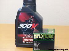 Motul Öl 300V Off Road 15W60 / Ölfilter Honda CRF250 X ab 04 / CRF450 X ab 05