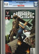Valiant Entertainment: Archer & Armstrong 1 2nd Print CGC 9.8 w 2012