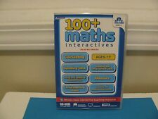 100 Math Interactives Cd-Rom Ages 11 ~ Great Teaching Tool ~