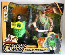 VERY RARE 2003 ACTION MAN KONGO MISSION GORILLA HASBRO EUROPEAN NEW MISB !