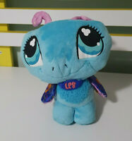 LITTLEST PET SHOP BUTTERFLY STUFFED ANIMAL BLUE HASBRO LPS 2007